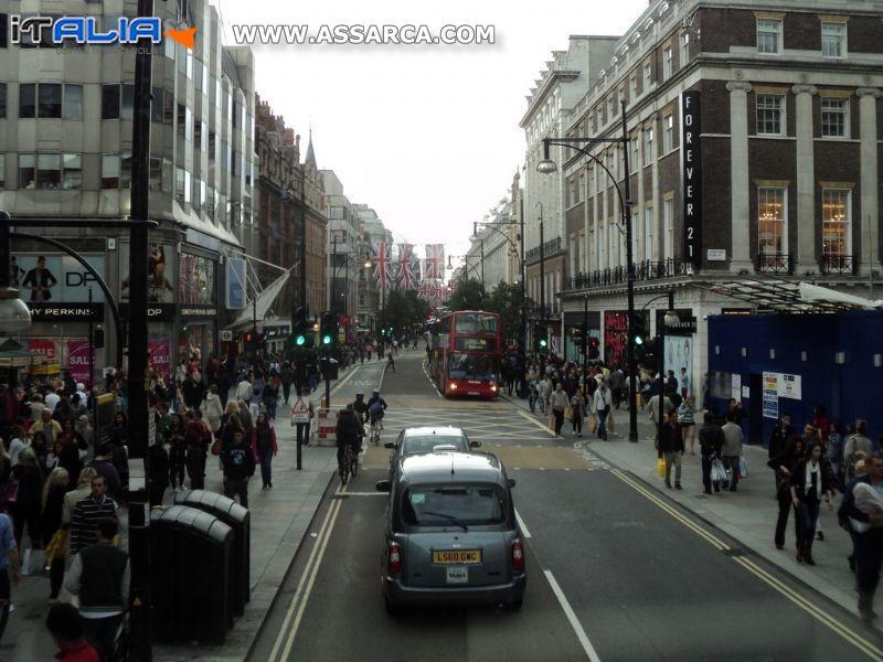 Per le vie di Londra