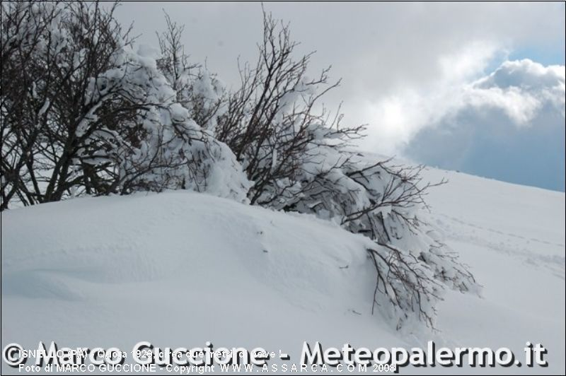 QUOTA 1920, CIRCA DUE METRI  DI NEVE !