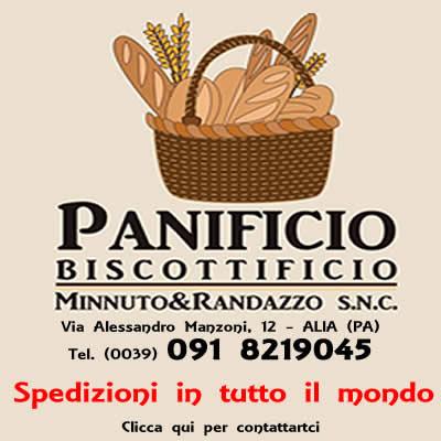 Panificio, Biscottificio Minnuto & Randazzo. Spedizioni in tutta Italia ed all'estero