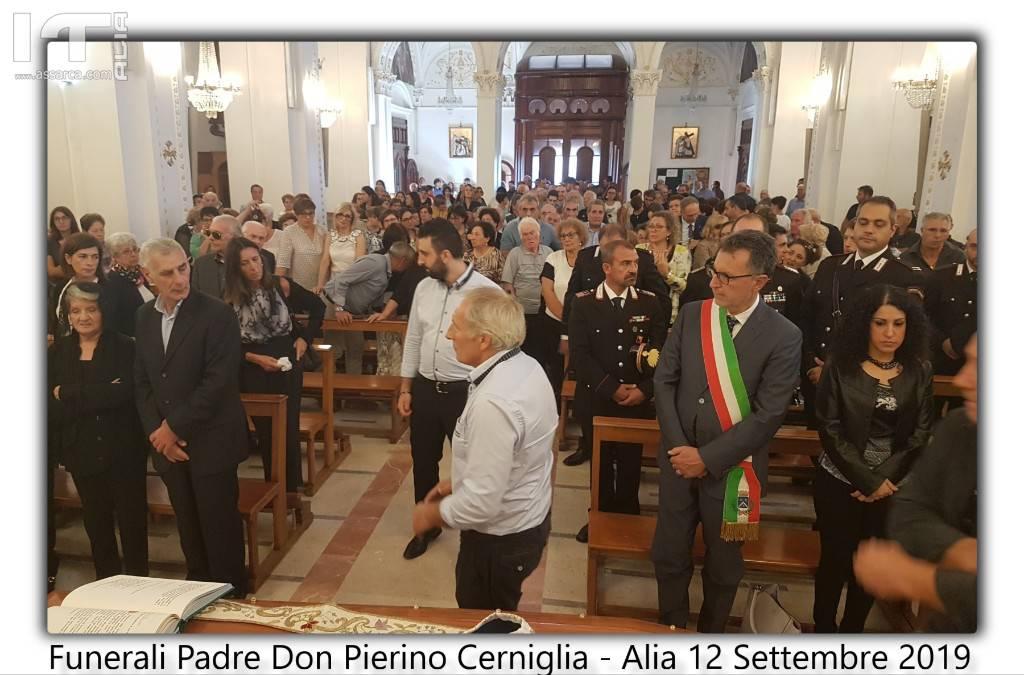 Funerali Padre Don Pierino Cerniglia - Alia 12 Settembre 2019