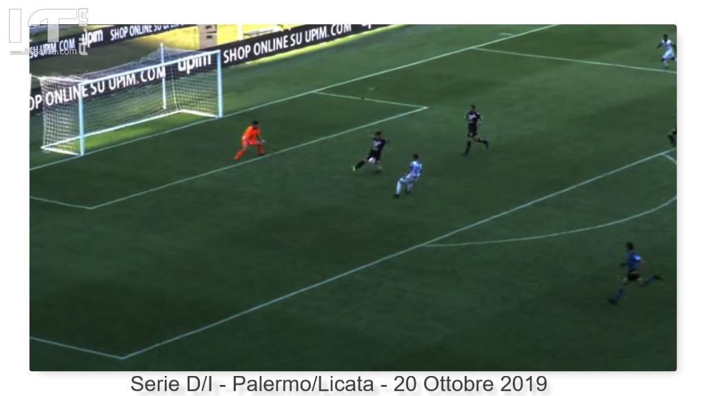 """Serie D/I - Palermo """"Ottava consecutiva"""" 2-1 di forza - Battuto il forte Licata di Campanella"""