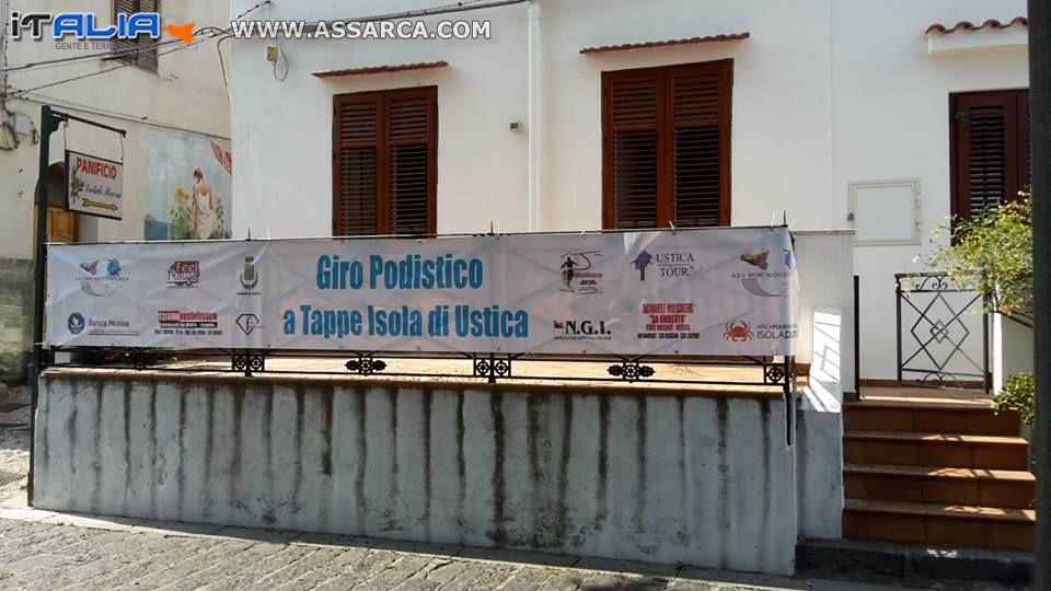 L'Isola di Ustica diventa  l'ombelico del mondo podistico nazionale,  al via la quarta edizione del Giro Podistico a Tappe Isola di Ustica