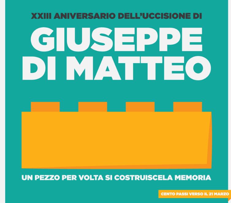 XXIII ANNIVERSARIO UCCISIONE GIUSEPPE DI MATTEO. A SAN GIUS...