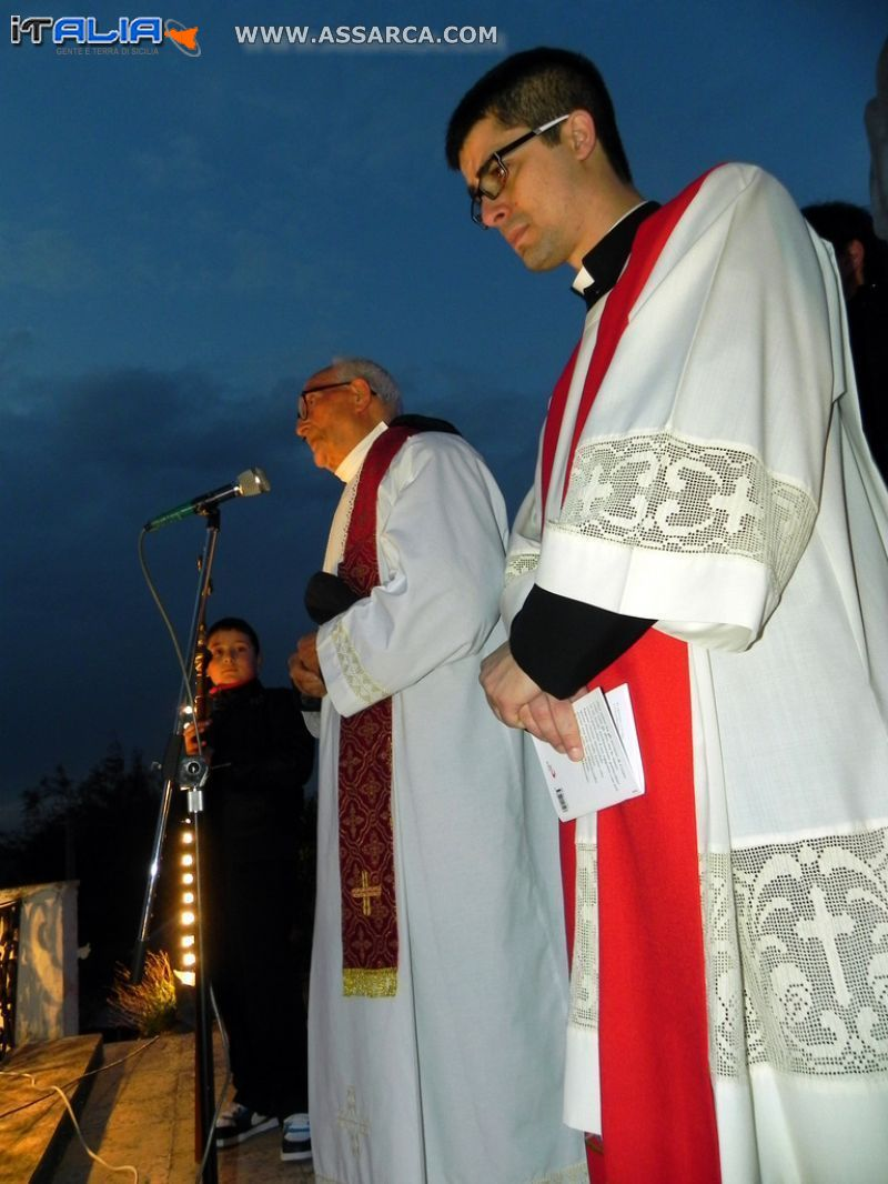 ALIA (PA) - PROCESSIONE VENERDI` SANTO 2012