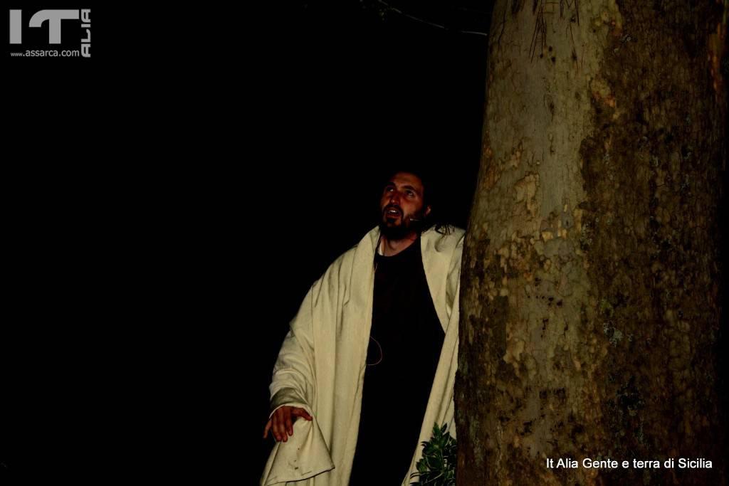 Alcune foto dell`ultima Via crucis ad Alia