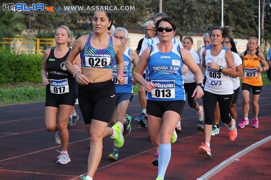 Podismo: Il 5000 metri in Pista contro la Violenza sulle Donne lascia il segno tra divertimento,agonismo e impegno sociale