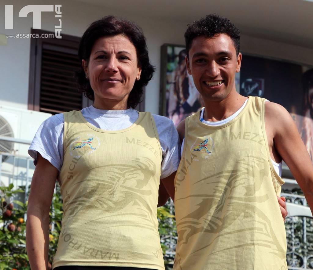 Podismo: Mohamed Idrissi e Tatiana Betta vincono la 7a edizione della Mezza Maratona Città di Capo d`Orlando