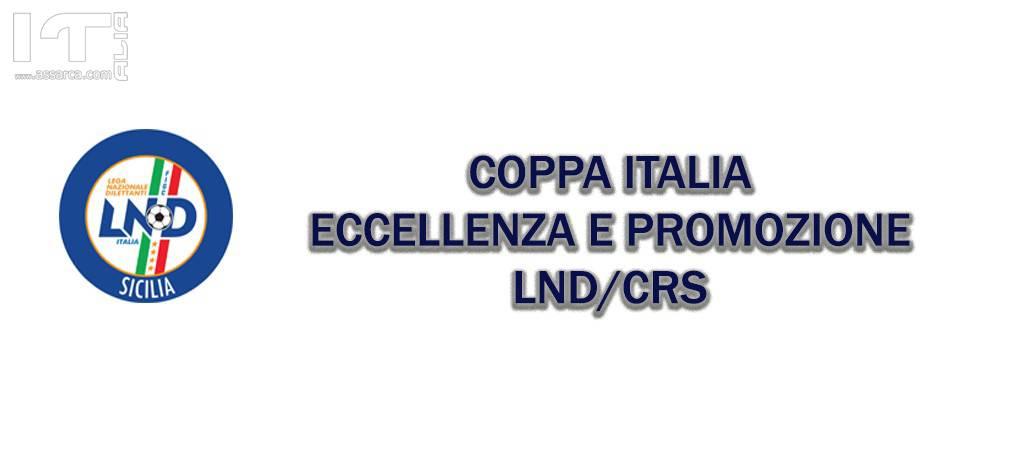 COPPA ITALIA - LND/CRS