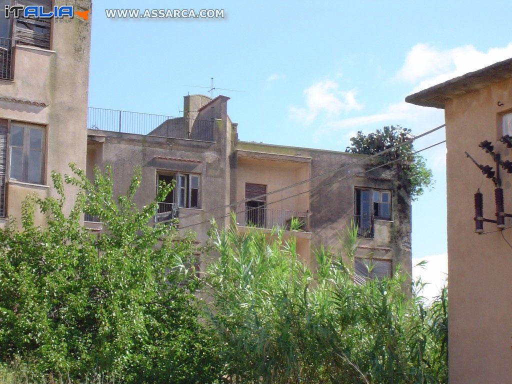 Il centro residenziale della stazione di Roccapalumba /Alia