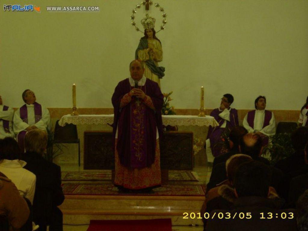 Inagurazione chiesa Maria Immacolata C.da Chianchitelli,
