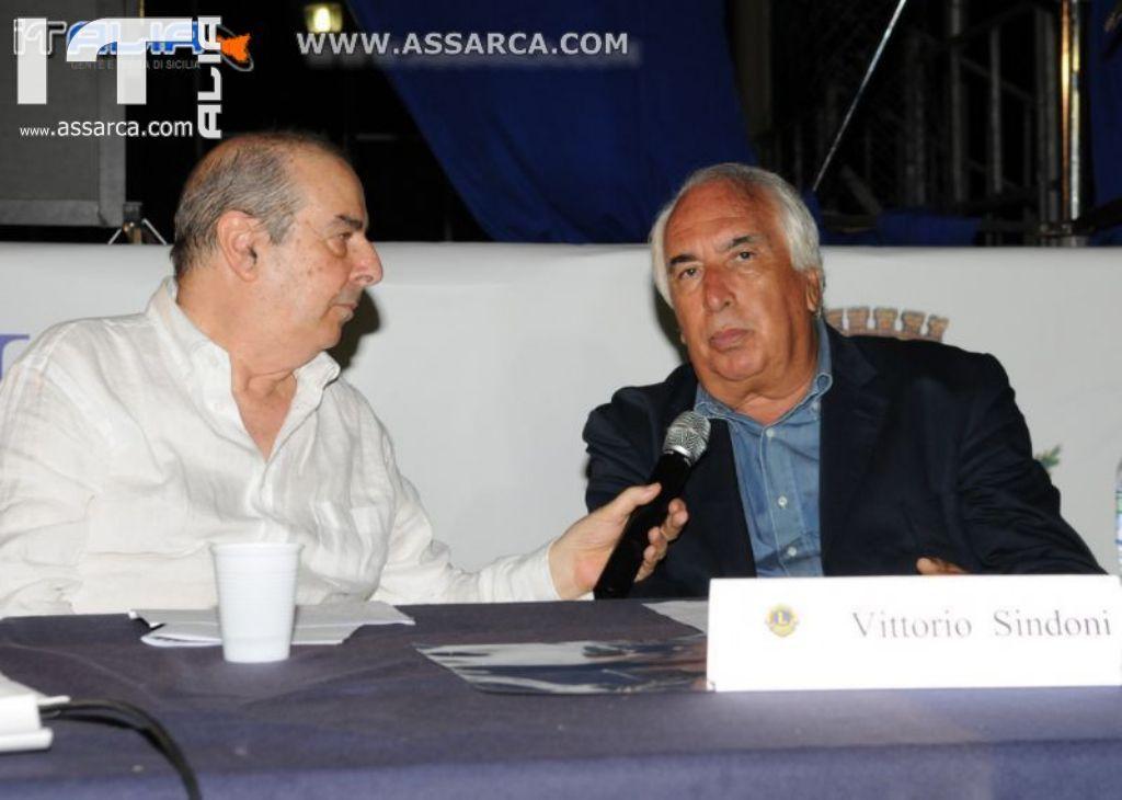 LIONS CLUB CAPO D`ORLANDO: INCONTRO COL REGISTA VITTORIO SIN...
