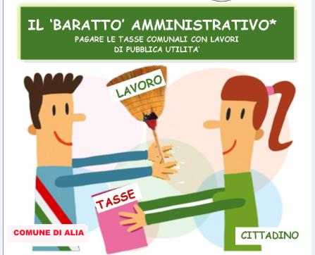 APERTURA TERMINI DI PRESENTAZIONE PER L`ACCESSO AL BARATTO AMMINISTRATIVO 2019.
