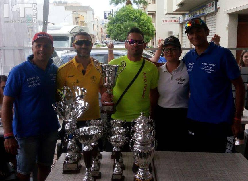 CICLISMO:  Il velocista Cosimo Salute della A.S.D. Fiamma  Palermo vince il 4° Trofeo Bar Baby Luna