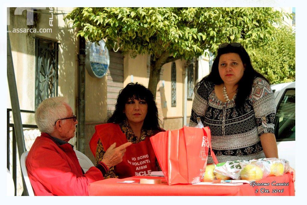 Alia, partecipa alla giornata nazionale per la ricerca per la Sclerosi Multipla, la Mela di AISM