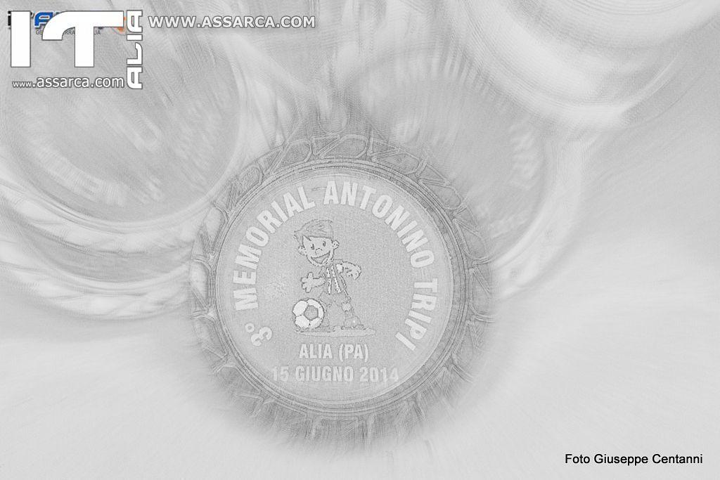3° MEMORIAL  ANTONINO TRIPI     ALIA 15 GIUGNO 2014