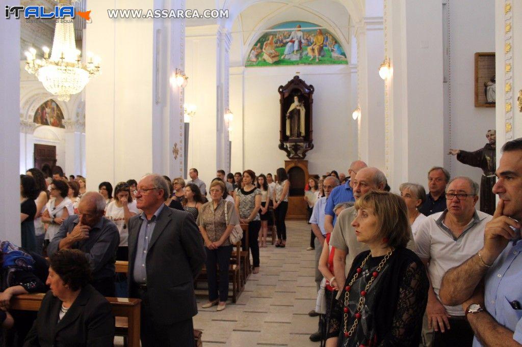 Madonna Delle Grazie - Alia (Pa) - Santa Messa 2 Luglio 2016