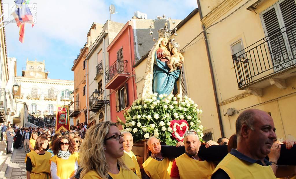 La Processione Della Madonna Delle Grazie - Alia 2 Luglio 2017 - Fotoracconto