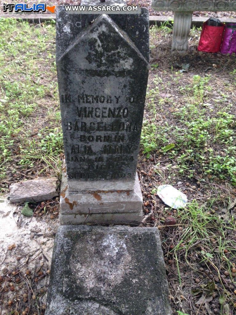 Vincenzo Barcellona da San Antonio, Texas (USA)