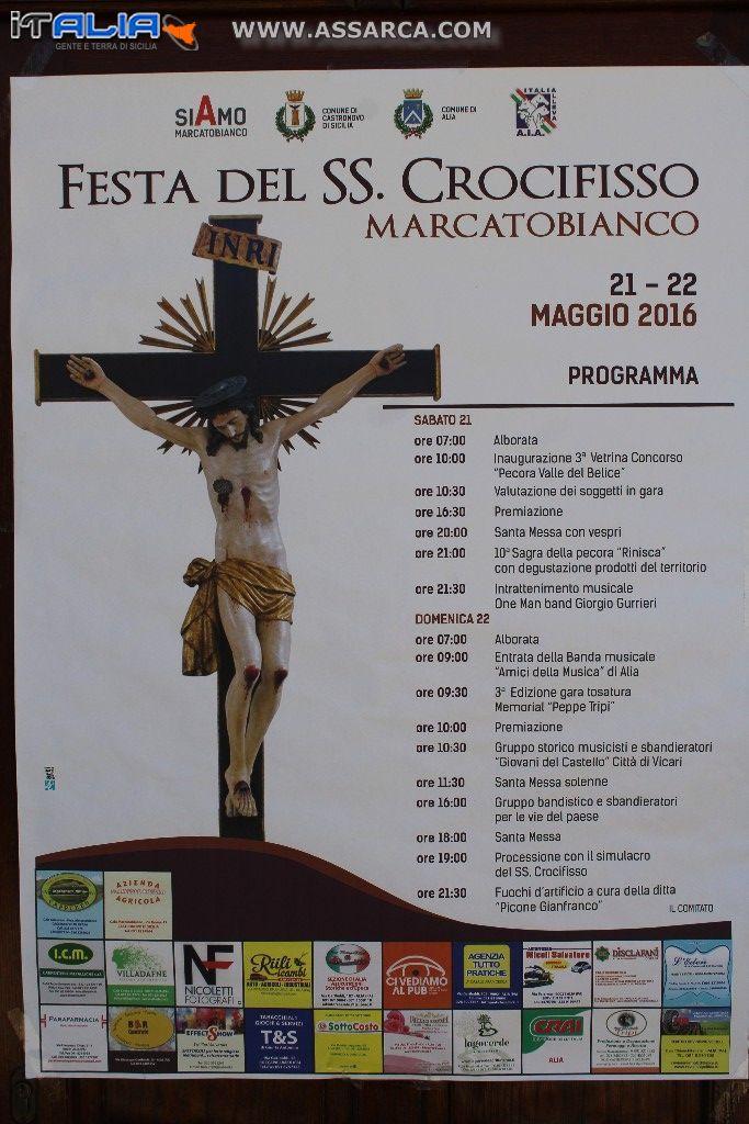 MARCATOBIANCO FESTEGGIAMENTI IN ONORE DEL SS. CROCIFISSO...