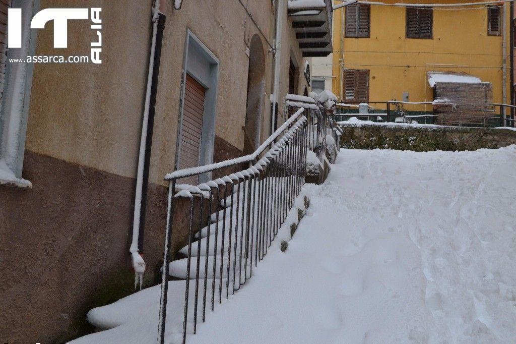 Ancora neve ad Alia bassa