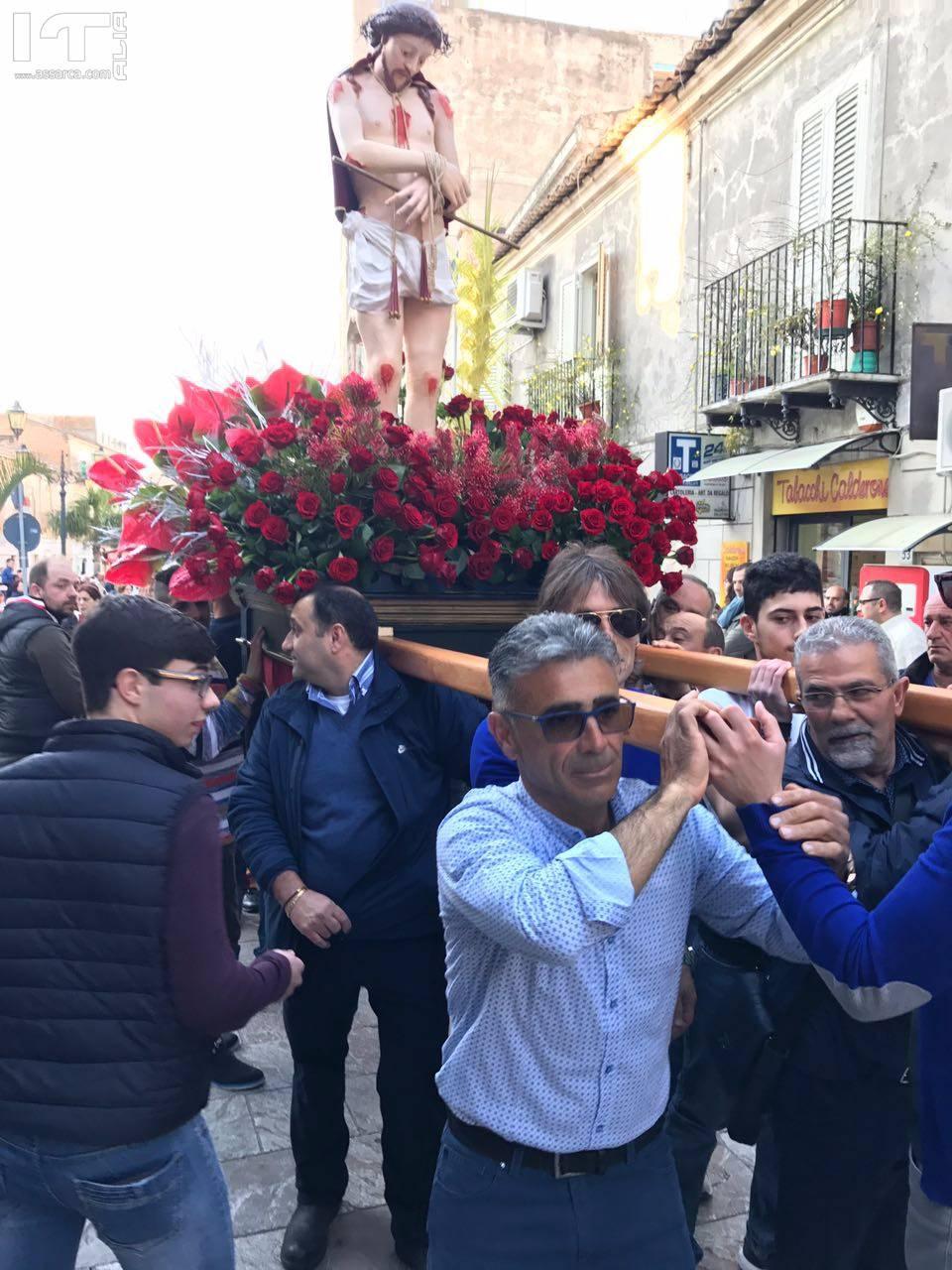 Santa Lucia Del Mela. Processione del Venerdì Santo 2017