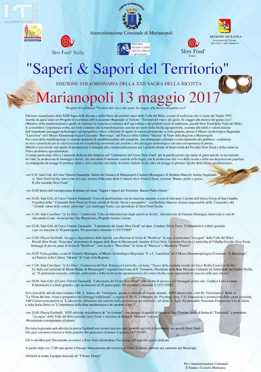 SAPERI & SAPORI DEL TERRITORIO
