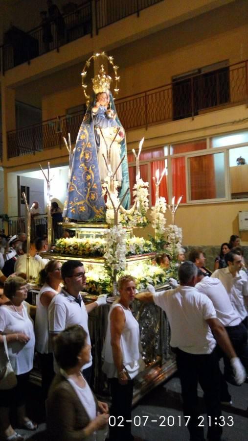 2 luglio 2017, Isola Delle Femmine festeggia la sua Patrona, la Madonna delle Grazie