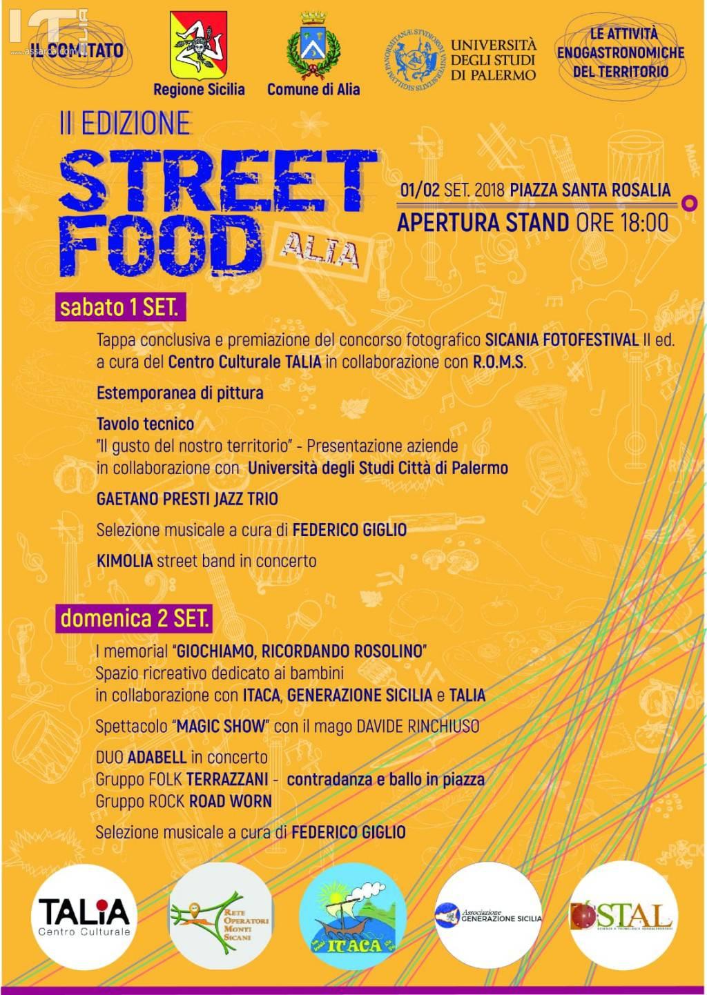 II EDIZIONE STREET FOOD