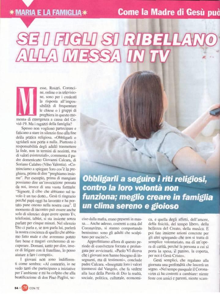 Intervista a padre Giovanni Calcara