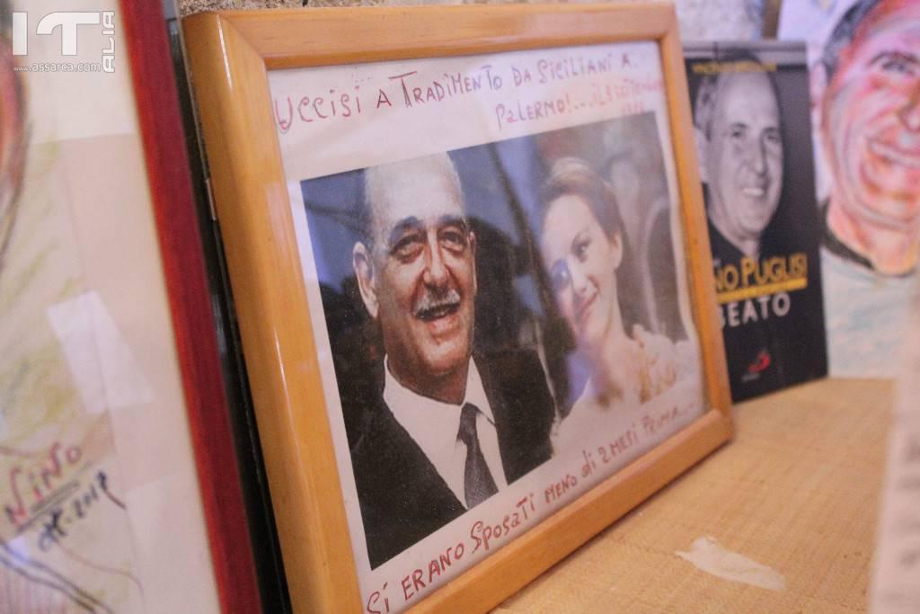 Antonino  Taravella ricorda i caduti per mano mafiosa