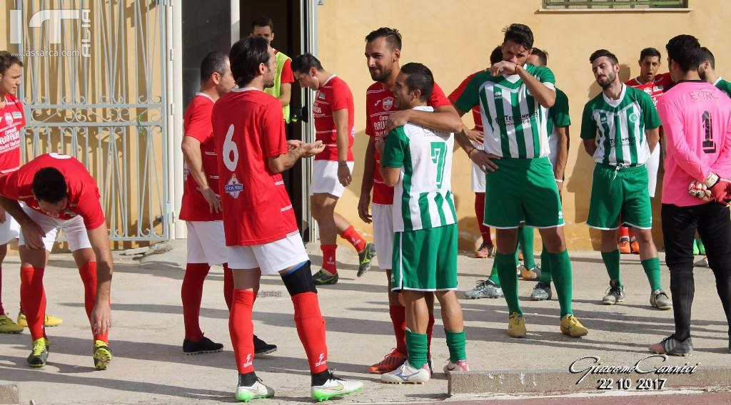 Vallelunga e Ravanusa - Pari in tutto - Promozione Girone A - 22 10 2017,