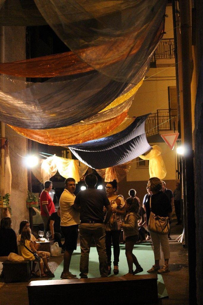 LA NOTTE DEGLI ARTISTI DI STRADA - Reportage per Roccapalumba