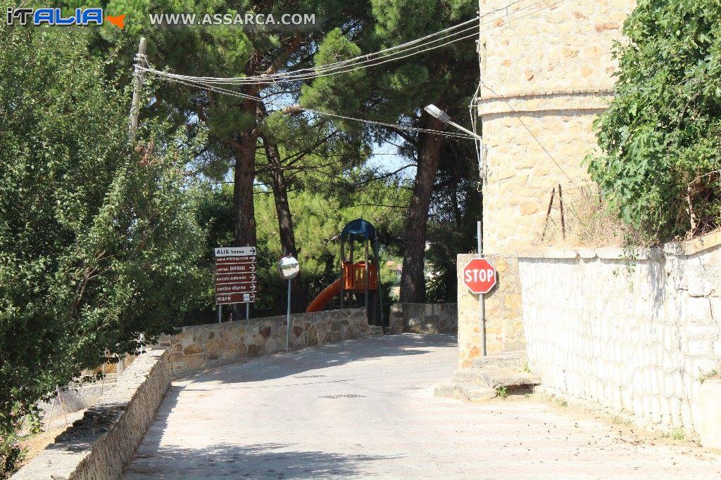 """Interrogazione situazione sicurezza e igienico sanitaria """"Villetta"""" pressi Vasca Vecchia Comunale Alia"""