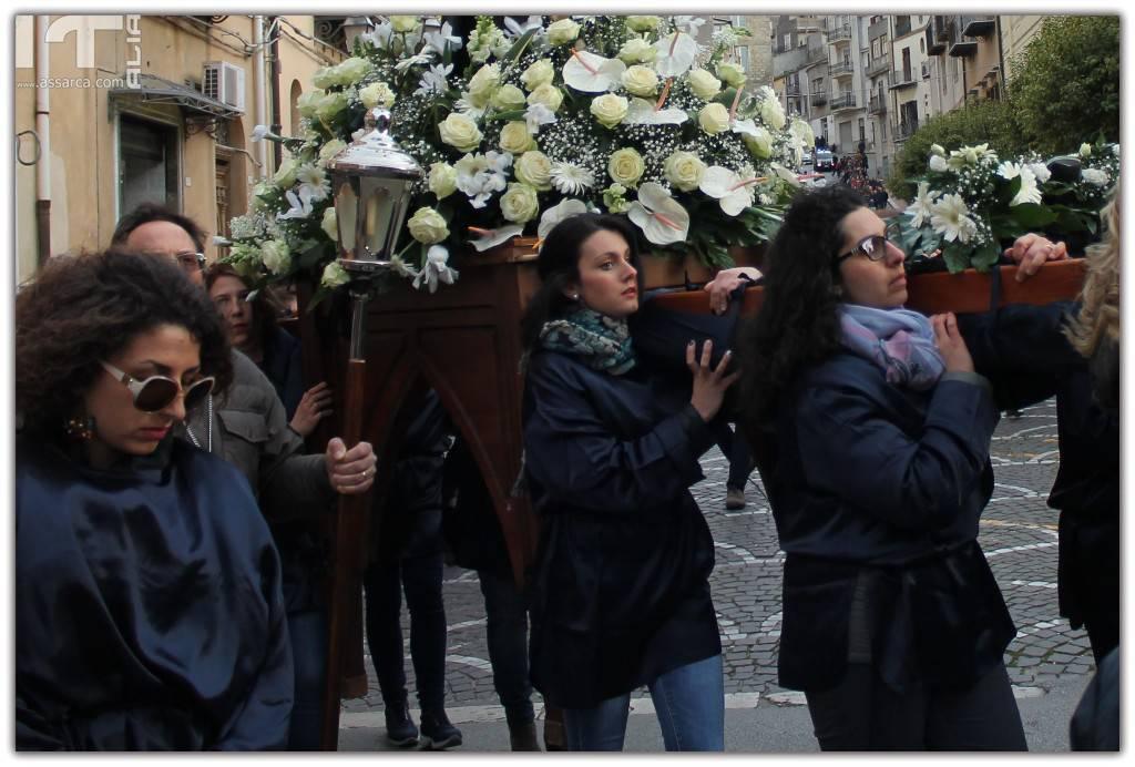 Processione VENERDI SANTO - Alia 30 Marzo 2018