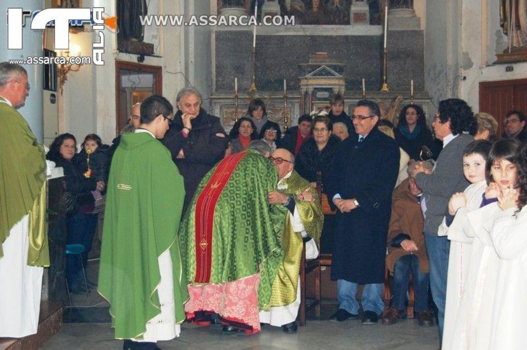 messa di saluto e ringraziamento don rosolino la mendola (parrocchia sant`anna),