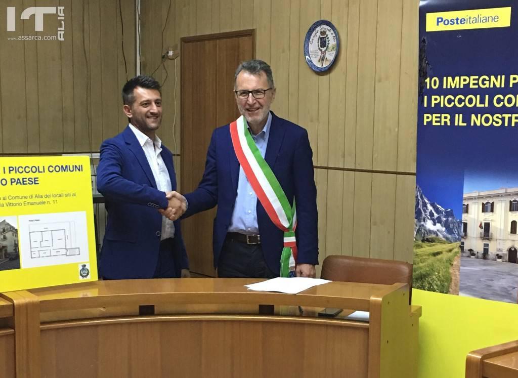 POSTE ITALIANE�CEDE�IN COMODATO GRATUITO ALCUNI�LOCALI�AL COMUNE DI�ALIA