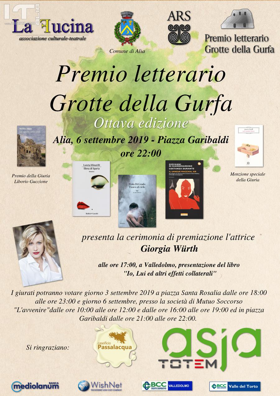Premio letterario Grotte della Gurfa - Ottava edizione