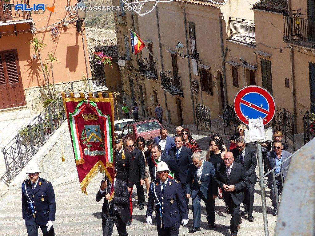 Omaggio dell`Amministrazione Comunale alla Madonna delle Grazie - 02 Luglio 2016