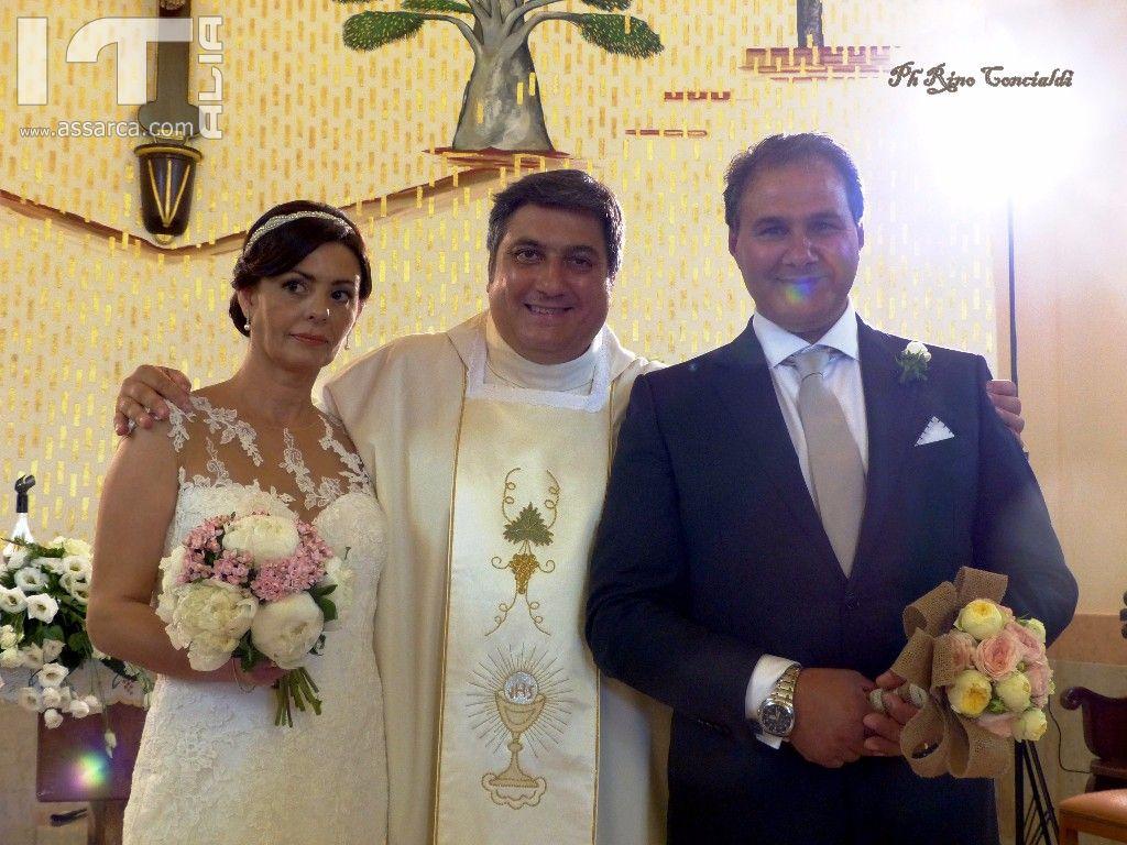 LE NOZZE DI ANNA & RENZO - CHIESA DELL`IMMACOLATA - 27/08/ 2016 SCENE DA UN MATRIMONIO - 2^ PARTE