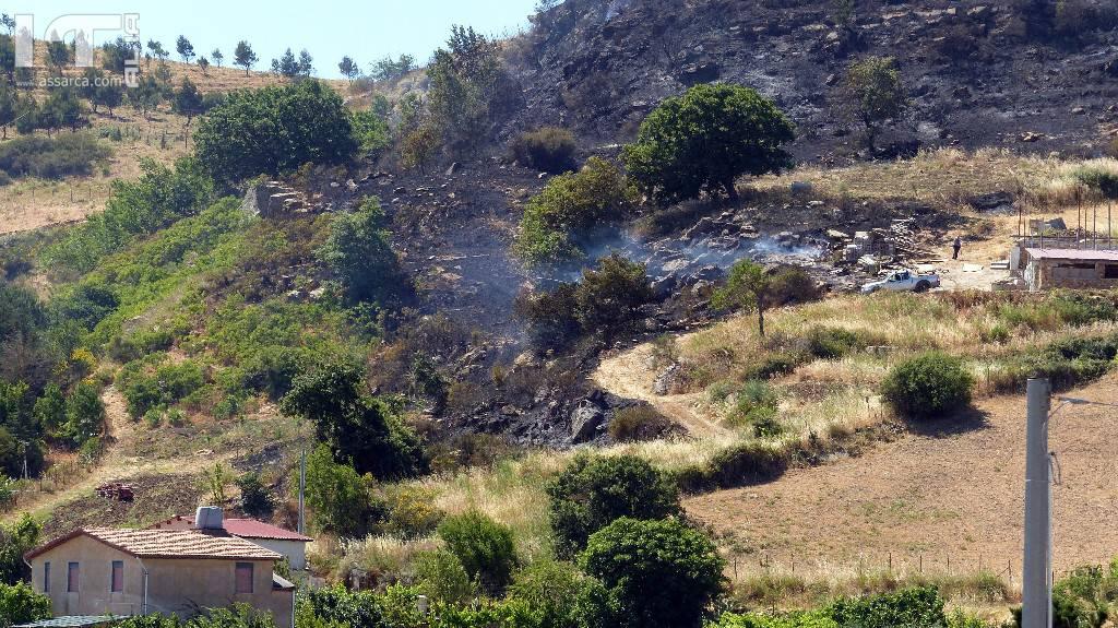 Incendio a Pizzo Garibaldi