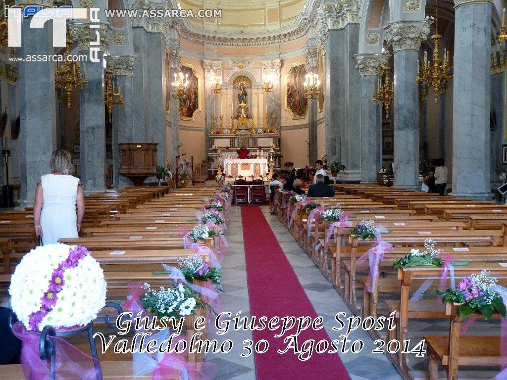 LE NOZZE DI GIUSY & GIUSEPPE - VALLEDOLMO 30 AGOSTO 2014     < 1^ PARTE >