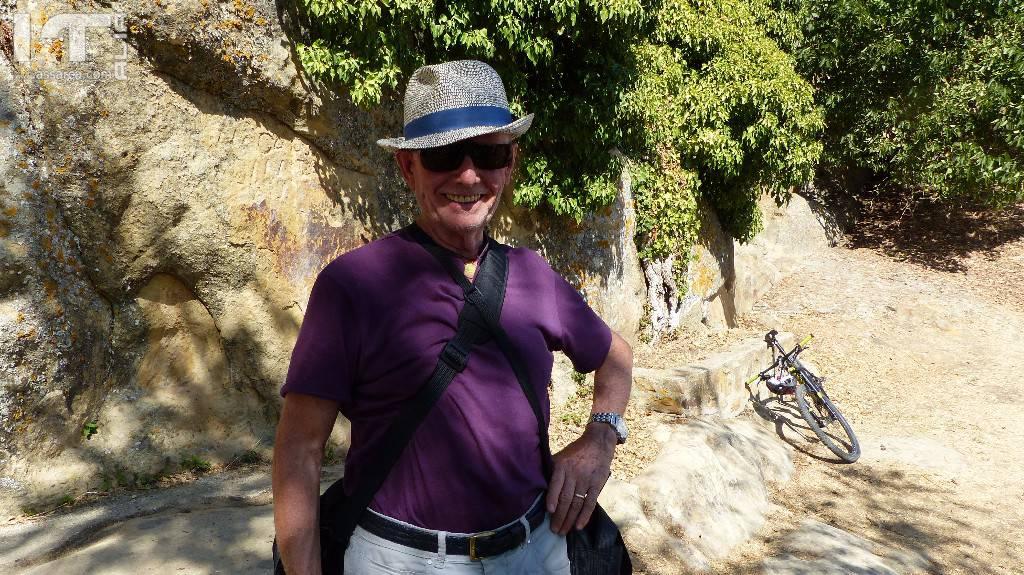 """Escursione sul tetto del sito rupestre  """" Grotte della Gurfa """" 25 agosto 2017"""