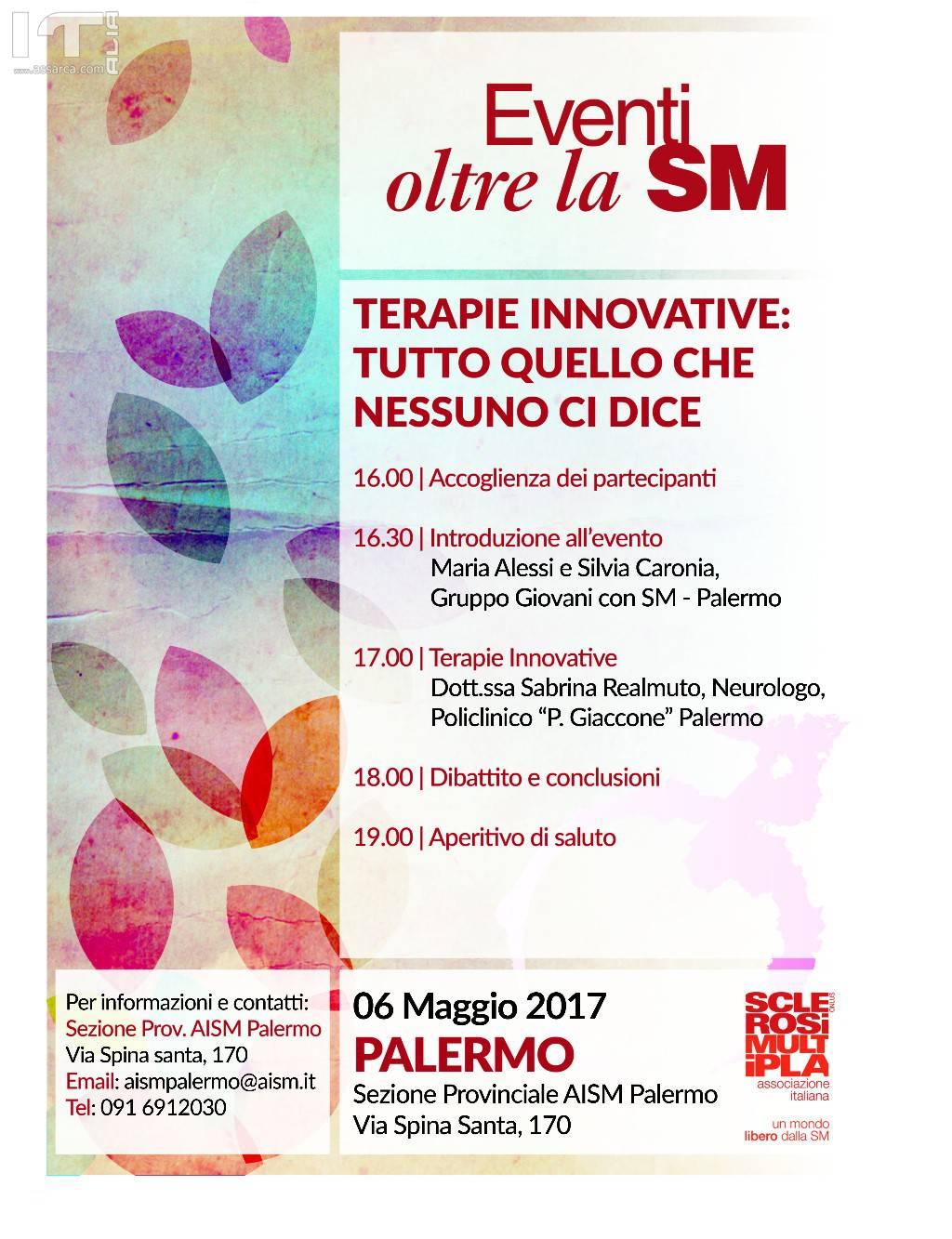 AISM PALERMO: Terapie innovative:tutto quello che nessuno ci dice