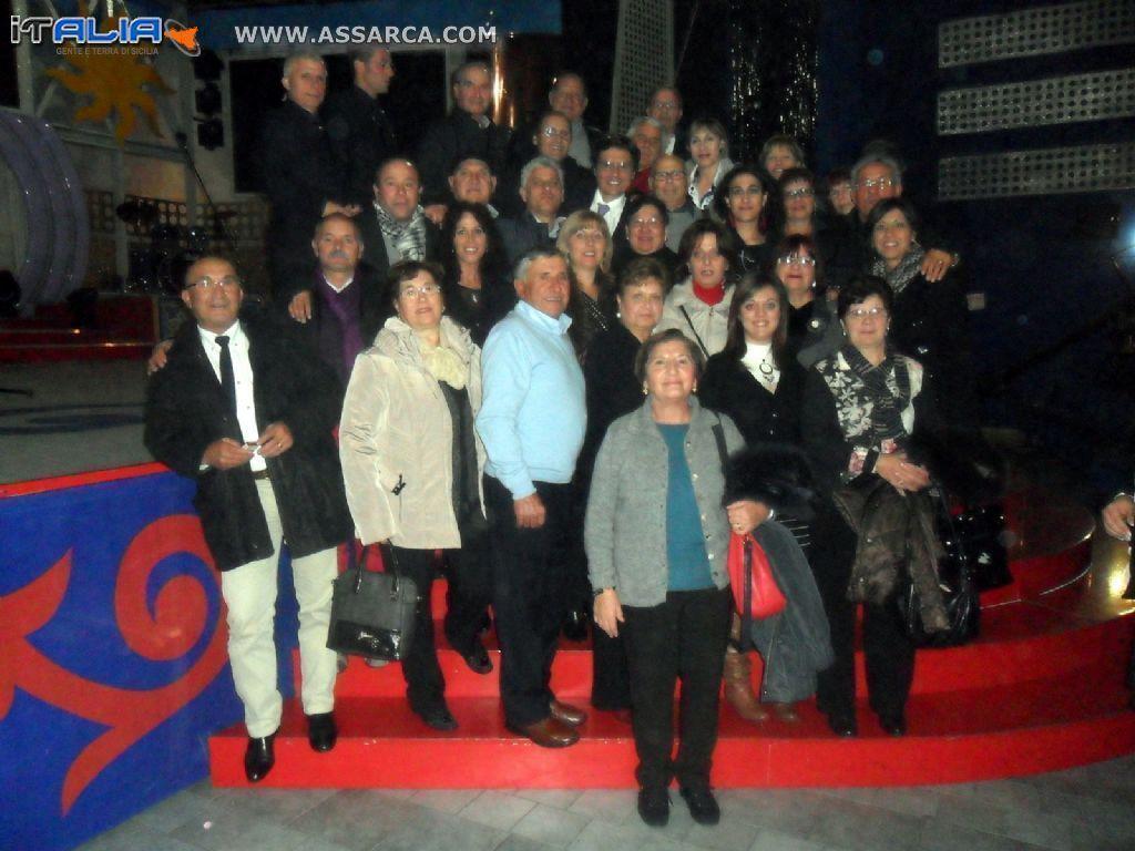 ALIA ALLA TRASMISSIONE DI SALVO LA ROSA  - INSIEME  - CATANIA 03 DICEMBRE 2013