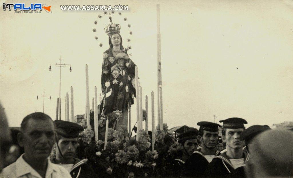 Termini Imerese, processione dell`Immacolata