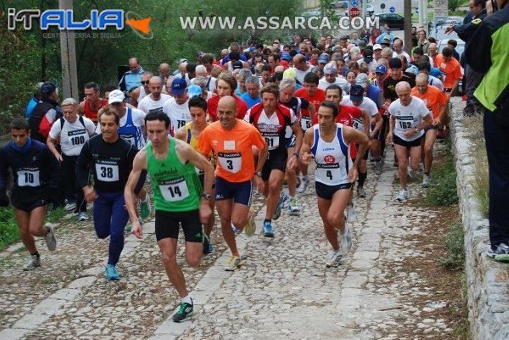 """Al grido di """"Viva Palermo e Santa Rosalia""""  si corre domenica   l'Acchianata a Santa Rosalia,  in palio i titoli di Campione Siciliano Fidal di Corsa in Montagna"""