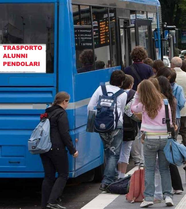 TRASPORTO ALUNNI PENDOLARI A.S. 2019/2020