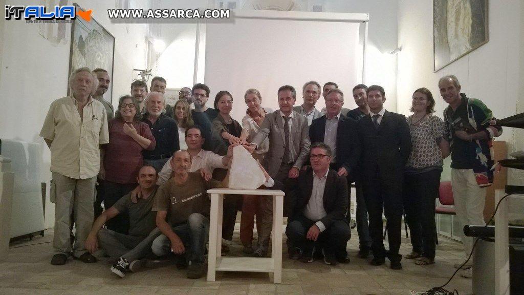 """""""SALE … LA VOGLIA D'ARTE"""". III BIENNALE INTERNAZIONALE DI SCULTURA DI SALGEMMA"""