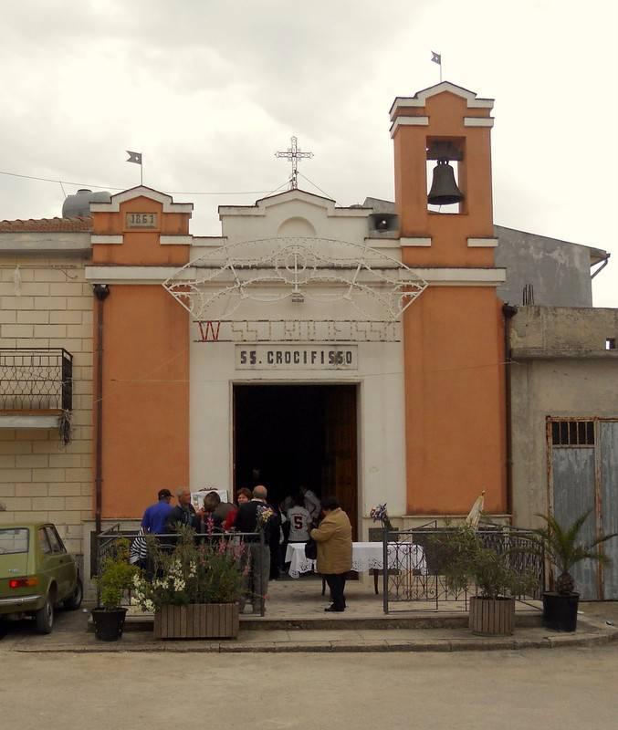 Anche la frazione di Marcatobianco è parrocchia.   Alle 20 la Messa solenne nella chiesa del Santissimo Crocifisso