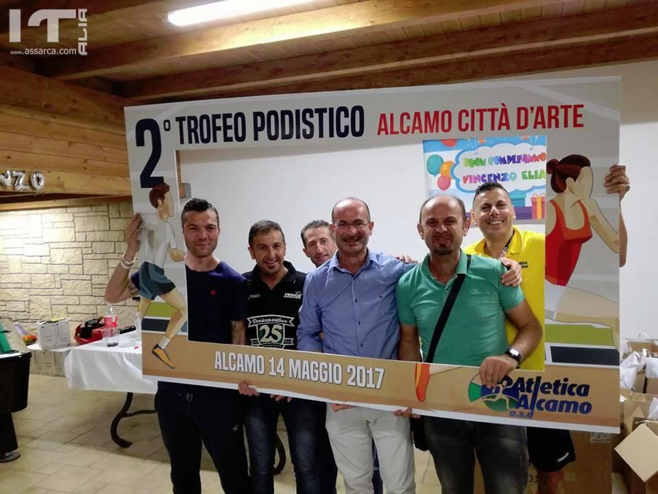 Grandi numeri al 2°Trofeo Podistico Alcamo Città D'Arte BioRace, trionfo di Salvatore Pisciotta e Lucia Maltese